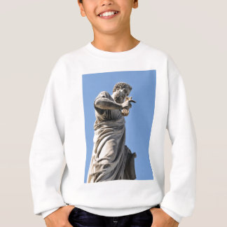 Saint Peter statue in Rome, Italy Sweatshirt