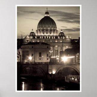 Saint Peter's Basilica Poster