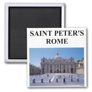 saint peter's basilica square magnet