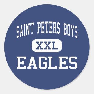 Saint Peters Boys - Eagles - High - Staten Island Classic Round Sticker