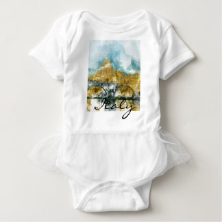 Saint Peters Cathedral in Vatican City Baby Bodysuit