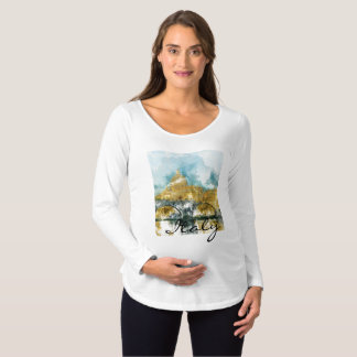 Saint Peters Cathedral in Vatican City Maternity T-Shirt