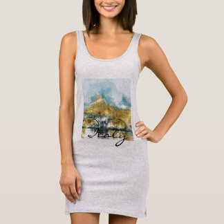 Saint Peters Cathedral in Vatican City Sleeveless Dress