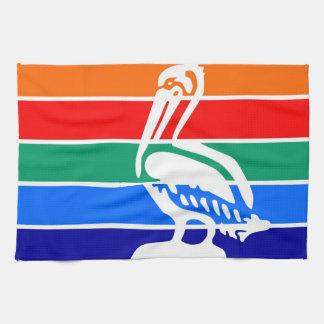 Saint Petersburg city flag  Florida America Kitchen Towel