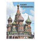 Saint Petersburg, Russia Postcard