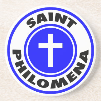 Saint Philomena Coaster
