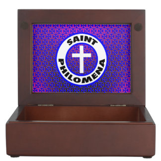 Saint Philomena Keepsake Box