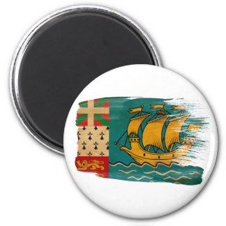 Saint Pierre and Miquelon Flag Magnets