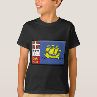 Saint Pierre and Miquelon Flag T-Shirt
