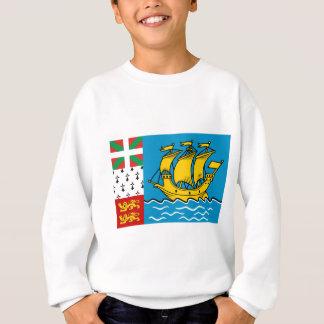Saint Pierre Flag Sweatshirt