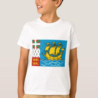Saint Pierre Flag T-Shirt