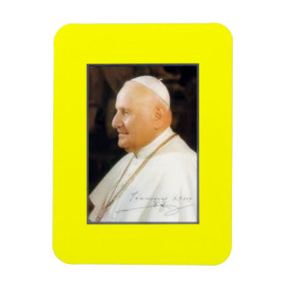 Saint Pope John XXIII Vinyl Magnet Rectangular Magnets