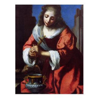 Saint Praxedis Postcard