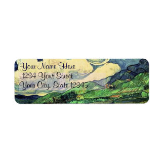 Saint Remy Landscape Return Address Labels