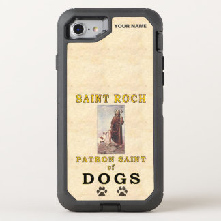 SAINT ROCH (Patron Saint of Dogs) OtterBox Defender iPhone 7 Case