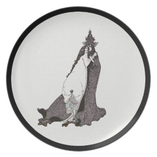 Saint Rose of Lima Ascends to Heaven Party Plate