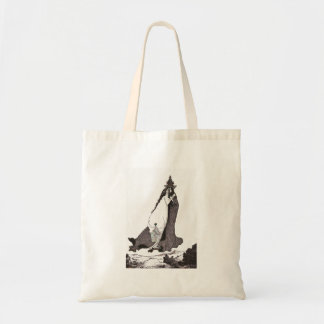 Saint Rose of Lima Ascends to Heaven Tote Bag