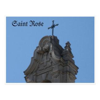 Saint Rose Santa Rosa, Ca. Postcard