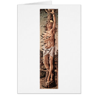 Saint Sebastian By Carlo Crivelli Greeting Cards