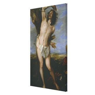 Saint Sebastian Canvas Print