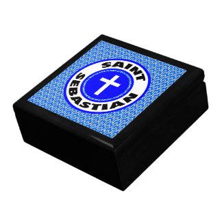 Saint Sebastian Large Square Gift Box