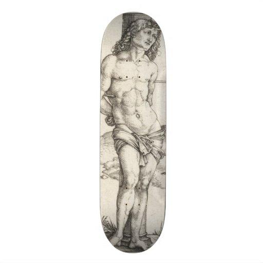 Saint Sebastian Tied to a Column by Albrecht Durer