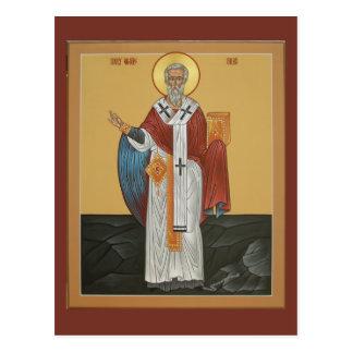 Saint Silas Prayer Card Postcard