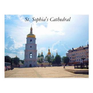 Saint Sophia's Cathedral. Kiev, Ukraine Postcard