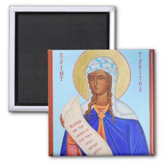 Saint Tabitha Orthodox Icon Magnet