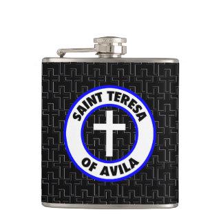 Saint Teresa of Avila Hip Flask