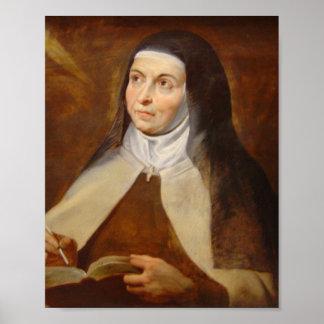 Saint Teresa of Avila Poster