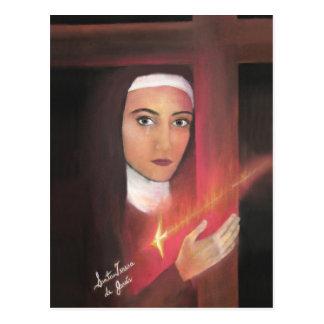 Saint Teresa of Jesus. Postcard
