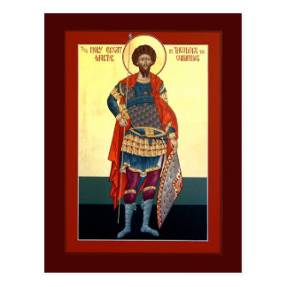 Saint Theodore Prayer Card