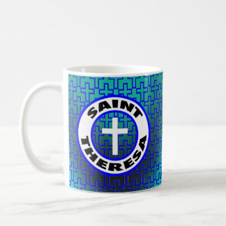 Saint Theresa Basic White Mug