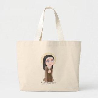 Saint Therese Jumbo Tote Bag