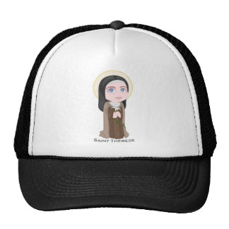 Saint Therese of Lisieux Cute Catholic Trucker Hats