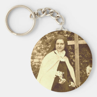 Saint Therese of Lisieux Keychain