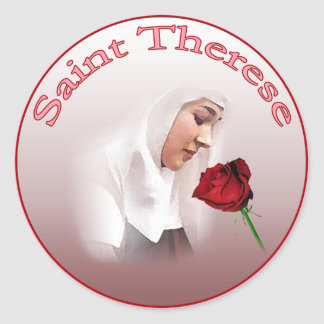 Saint Therese Stickers
