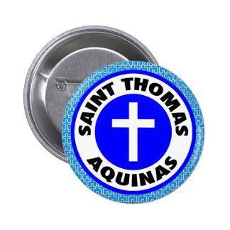 Saint Thomas Aquinas 6 Cm Round Badge