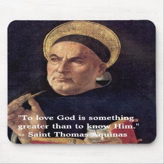 Saint Thomas Aquinas Mousepad