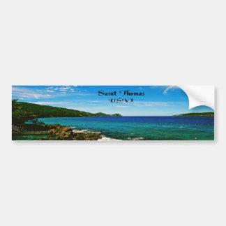 Saint Thomas Bumper Sticker