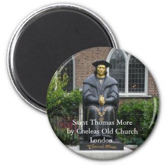 Saint Thomas More 6 Cm Round Magnet