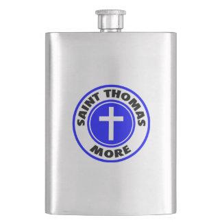 Saint Thomas More Hip Flask