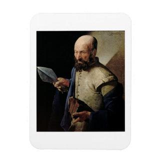Saint Thomas (oil on canvas) Flexible Magnets