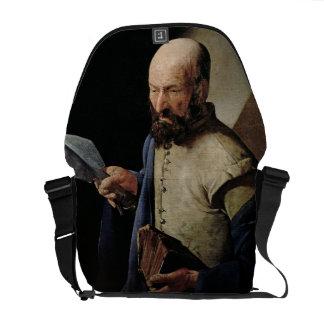 Saint Thomas (oil on canvas) Messenger Bag