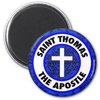 Saint Thomas the Apostle 6 Cm Round Magnet