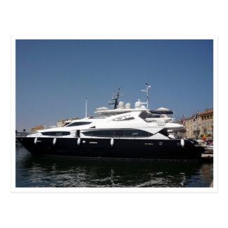 saint tropez maxi boats postcard