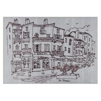 Saint-Tropez Shops | French Riviera, France Cutting Board
