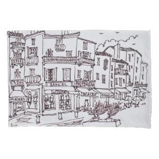 Saint-Tropez Shops | French Riviera, France Pillowcase