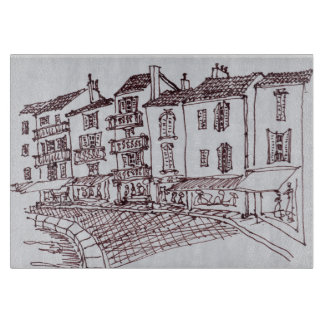 Saint-Tropez Waterfront | Saint-Tropez, France Cutting Board